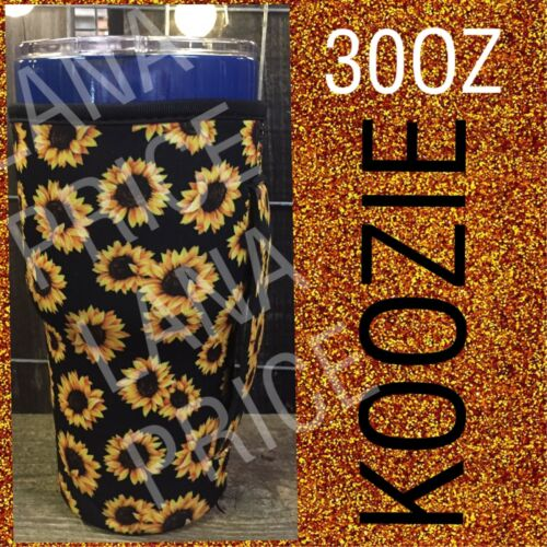 Koozie with handle for 30 oz Tumbler Set of 2 Sunflower FREE SHIPPING