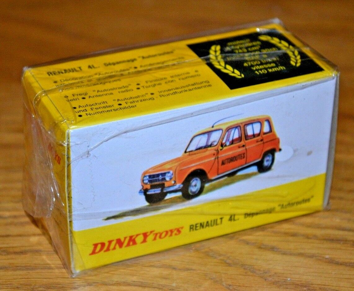 2013 French Dinky Toys Atlas Edition Diecast No. 518A Renault 4L
