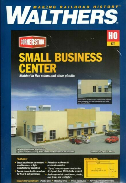 4132 Walthers Cornerstone Small Business Center Distribution Warehouse HO