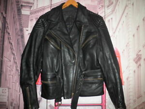 3-4-CUERO-LOUIS-MOTO-PIEL-VINTAGE-CHAQUETA-MOTORISTA-LEATHER-JACKET-RIDERS-42