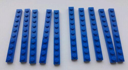 Lego Blue Plate 1x10 Part 4477 x 10