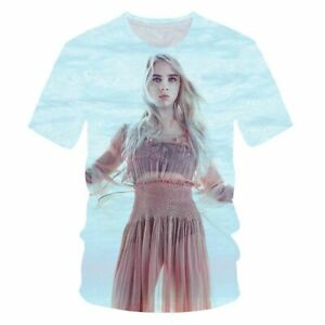 Singer Billie Eilish 3D print Casual T-Shirt New Women Men Short Sleeve Tops Tee