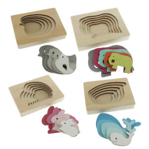 Kids-Baby-Wooden-Montessori-Puzzle-5-Layer-Puzzle-Learning-Educational-Toy