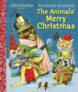 Richard-Scarry-039-s-The-Animals-039-Merry-Christmas-Hardcover-by-Jackson-Kathryn