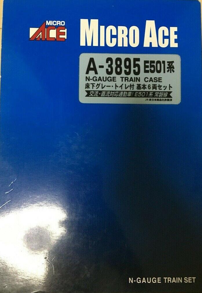 1 150 Micro Ace A-3895 N-Gauge E501 Series Series Series  Basic 6-car Set A3895 Neuf-New-Neu 432d58