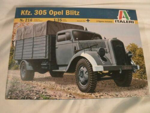 1PC 1//72 Deutsche Kfz.305 Opel Blitz Lkw Plastik Set WWII Modell for Sammeln