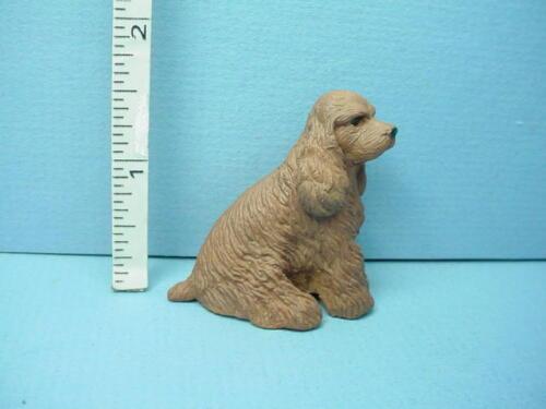 Miniature American Cocker Spaniel Dog  #A890 Falcon 1//12th Scale Resin
