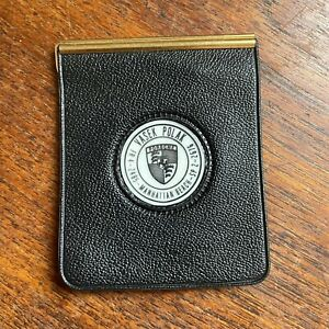 VASEK POLAK Dealer Wallet MANHATTAN BEACH Porsche Dealership 356 911 Bill Fold