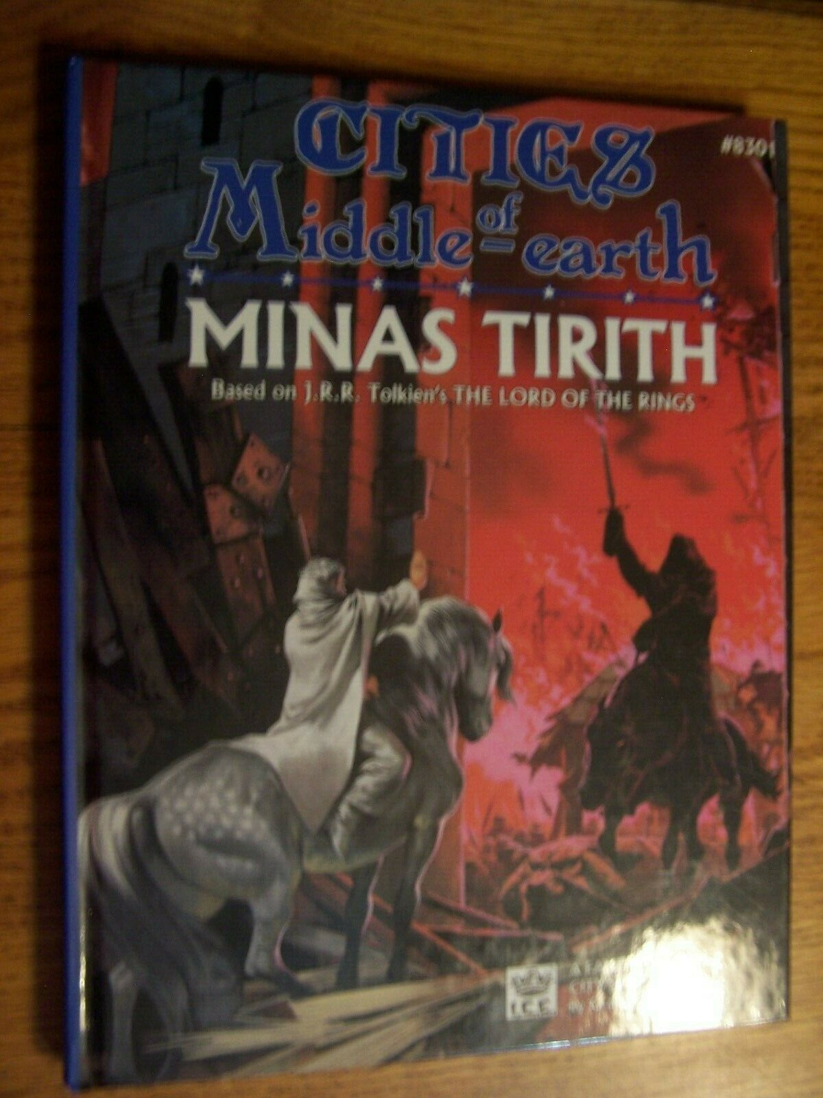 ICE Cities of Middle-Earth Minas Tirith hardcover I.C.E. 8301 MERP 1988