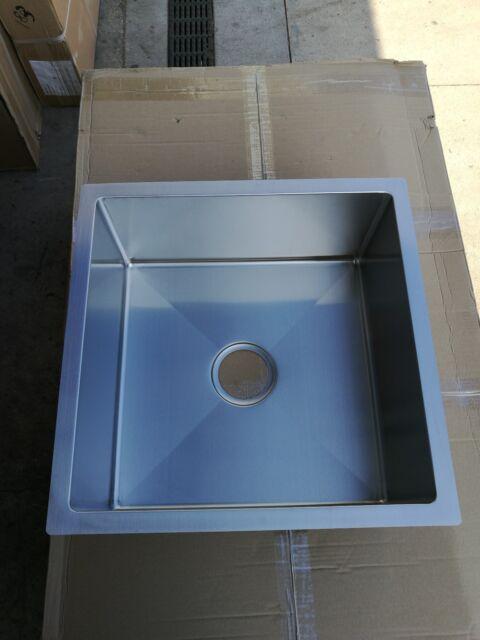 Brand New Stainless Steel Handmade undermount Sink 500x500x230 mm