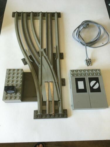 elektrische Weiche links LEGO 12 V Eisenbahn