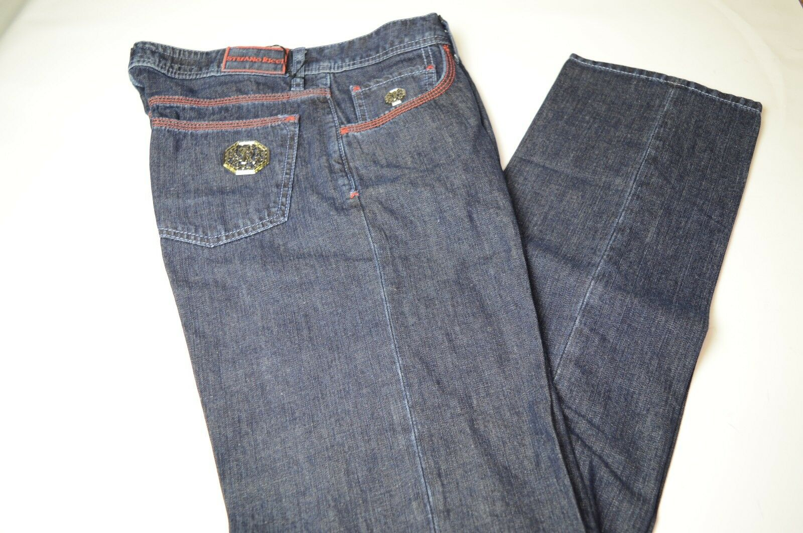 ebae8952 STEFANO RICCI Luxury Jeans Size 31 Us 47 Eu Made in (70A) NEW ITALY ...