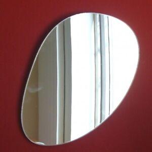 Kieselstein spiegel lang 3mm acryl spiegel for Spiegel lang