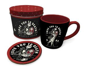 Boxed-Gift-Set-Mug-amp-Coaster-a-Gift-Tin-NIGHTMARE-BEFORE-CHRISTMAS-85467