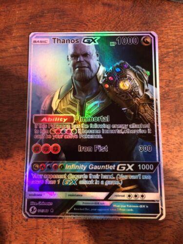 Lesen in der Beschreibung Pokemon GX Ex M Thanos Avengers Infinity War Read