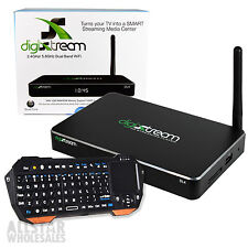 DigiXstream DL4 Android Stream TV Box Quad Core + FREE Bluetooth Keyboard