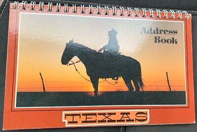 Adress Book Texas - Carnet D'adresse Neuf Per Farti Sentire A Tuo Agio Ed Energico