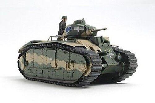 Tamiya  1 35 Francese autoro Armato da Battaglia B1 Bis W Singolo Motore  spedizione veloce e miglior servizio