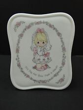 Precious Moments ~ THIS DAY HAS BEEN MADE IN HEAVEN ~ Music Box Musical Plaque
