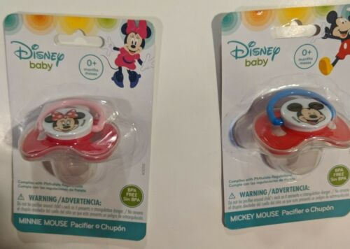 Pacifiers With Covers Choice Disney Mickey Mouse Or  Nickelodeon Paw Patrol