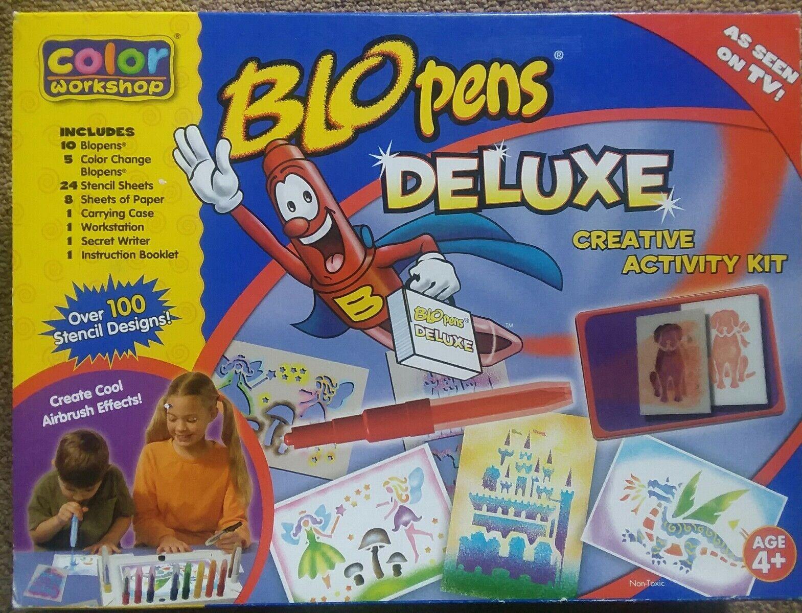 diseños exclusivos En Blo Pens actividad creativa Deluxe Kit Kit Kit Aerografo efectos 100+ stensil Designs  promociones de descuento