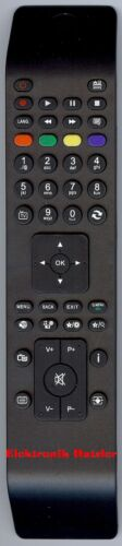 TV Ersatz Fernbedienung für TELEFUNKEN L24H185N2V1 10094030 27264385
