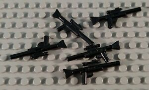 LEGO Lot of 5 Black Long Range Star Wars Minifigure Gun Weapons