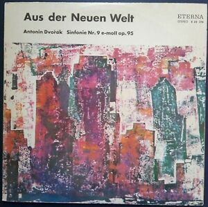 """Dvorak - Symphony No. 9 """"New World"""", KONWITSCHNY, Eterna STEREO"""