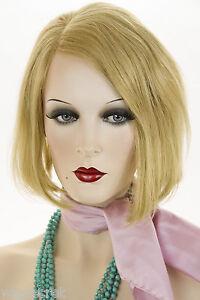 Honey Ash Blonde Blonde Short Human Hair Straight Wigs Ebay
