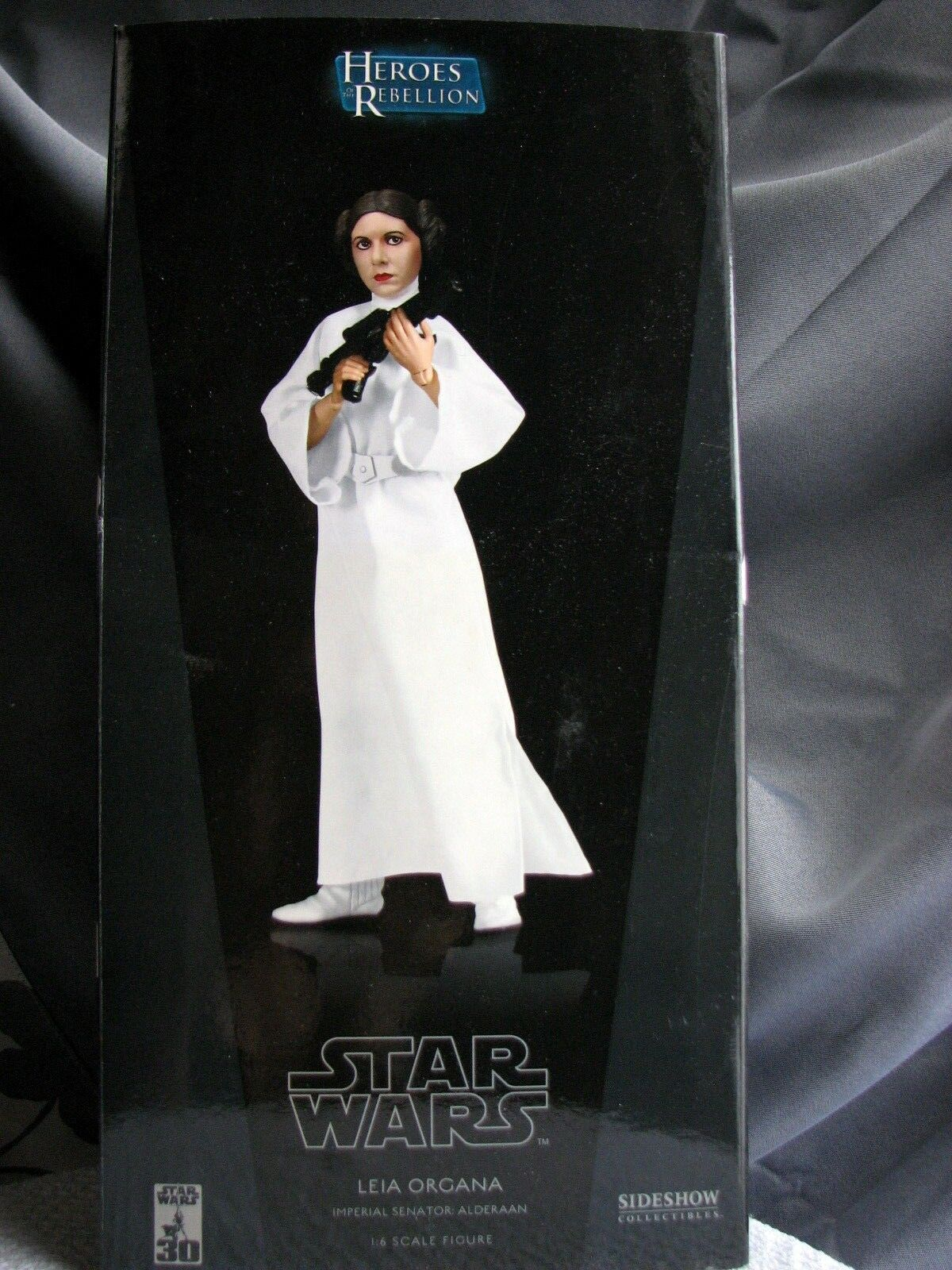 Sideshow Star Wars Leia Organa Imperial Senator  Alderaan 1 6 Scale 12  figure