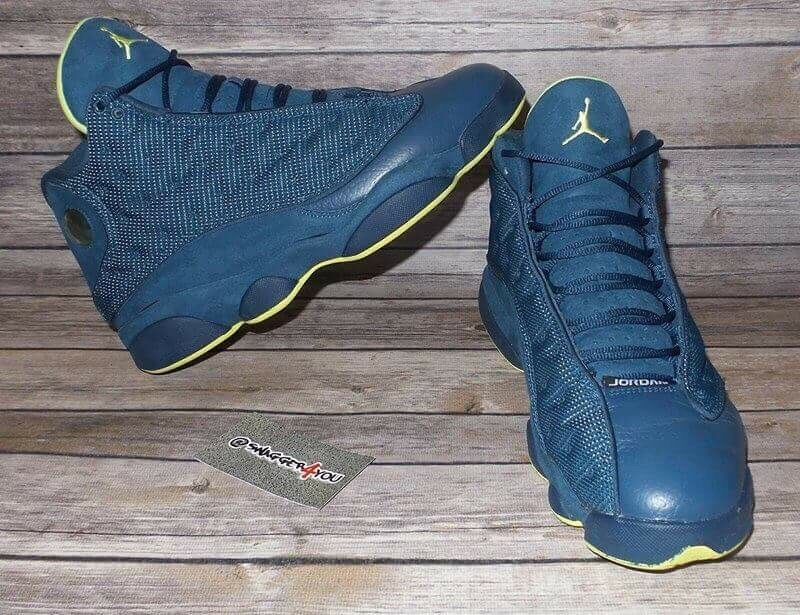 Air Jordan 13 Retro Squadron Blue Comfortable Cheap and beautiful fashion