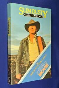 SLIM-DUSTY-Walk-A-Country-Mile-BOOK-Australian-Country-Music-Legend-Memoir