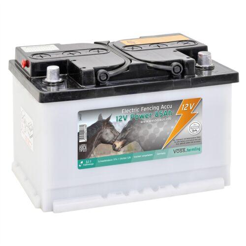 12V 85Ah Akku Weidezaungerät Weidezaun Gerät Weidezaunbatterie Elektrozaun