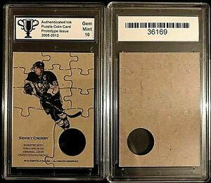 Sidney-Crosby-Pittsburgh-Penguins-Puzzle-Coin-Prototype-Cards-Graded-10-Gem-Mint