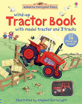 1 of 1 - Farmyard Tales Wind-up Tractor Book, Good Condition Book, , ISBN 9780746084267