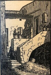 Georgette-Chabalier-Print-Provence-First-half-of-20th-Provence