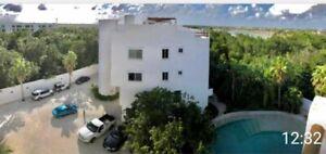 Precioso PH en renta en Lagos del Sol Cancún  OF02321