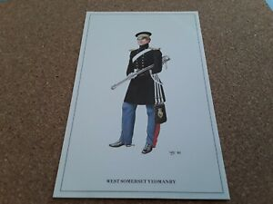 POSTCARD-THE-YEOMANARY-CAVALRY-OFFICER-WEST-SOMERSET-YEOMANRY