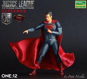 Crazy-Toys-Superman-figurine-Justice-League-6-034-modele-nouveaute-classique-statue