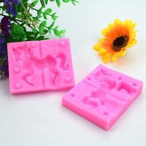 Unicorn-Horse-Silicone-Cake-Chocolate-Fondant-Baking-Mold-Sugarcraft-Mould-DIY-L