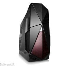 Dynamode LOCKSTOCK GC378 sistema costruttori NERO ATX mATXUSB USB 3.0 COMPUTER CASE PC