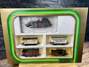 Trix HO/H0 - 21213 - T13 Steam Locomotive + 4 Wagon Train Set - 'K.P.E.V.'.