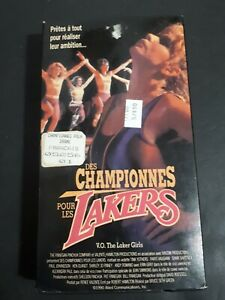 The-Laker-Girls-VHS-French-Version-1990-OOP-Edition-Drama-Thriller