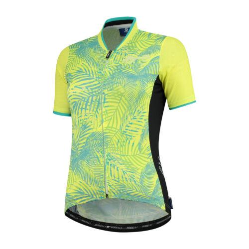 ROGELLI Flora Damen Fahrradtrikot Radtrikot Trikot Kurzarm Hemd Bike T-shirt
