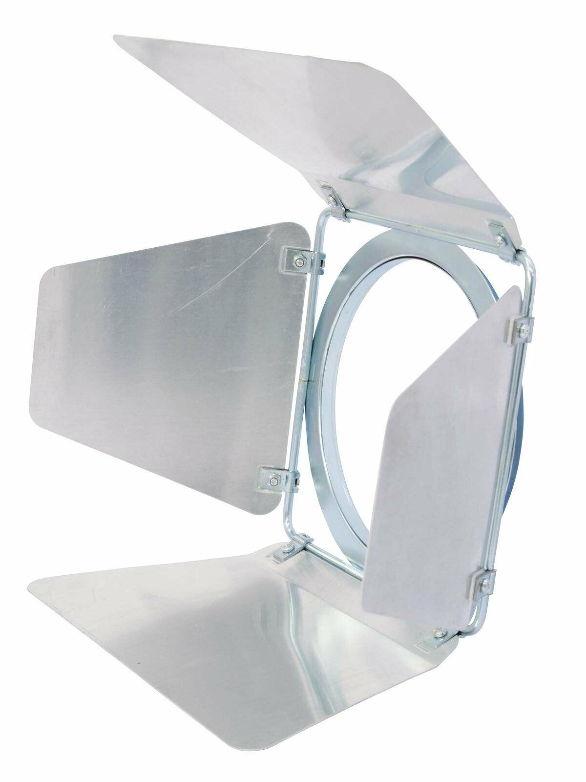 Eurolite PAR 56 Silver Barndoor for Par Can Lighting Fixture Barn Door Flaps