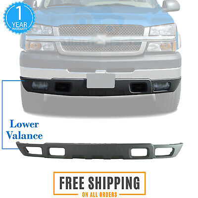 2005 2006 Avalanche Direct Replacement Air Deflector Textured Plastic 10386198 New Front Lower Valance Extension For 2003 2007 Chevy Silverado Automotive Valances Emosens Fr