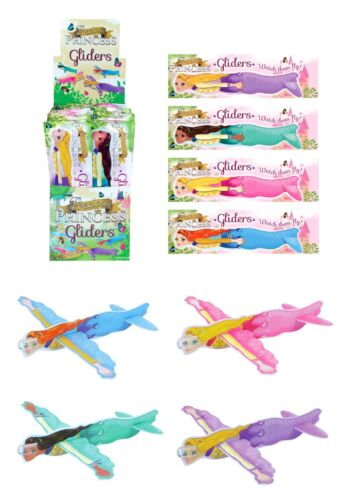 PRINCESS FLYING GLIDERS Kids Birthday Party Bag Favors Pinata Filler Pony Toy UK