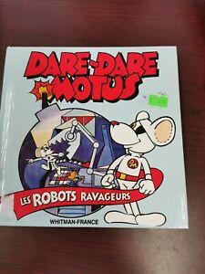 Dare-Dare-Motus-Livre-034-Les-Robots-Ravageurs-034-Vintage