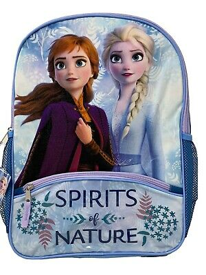 Personalization Frozen 2 16 Backpack with Embossed Front Pocket