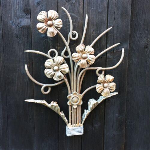 Deko Zierornament Ziergitter Blume Herstellung Geländer Balkon Fenster